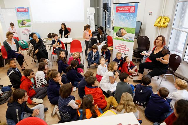 Semaine Européenne du développement durable, au ministère de l'éducation