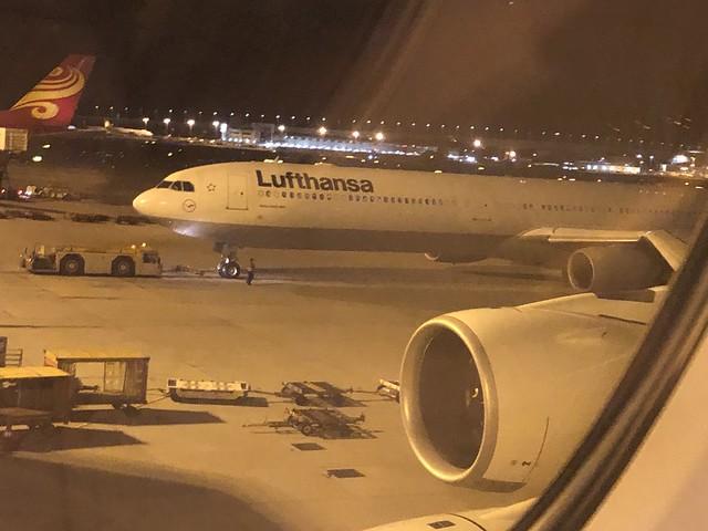 HKG-MUC LH731 First A380
