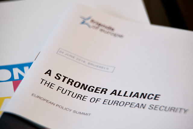 A stronger alliance - The future of European security.