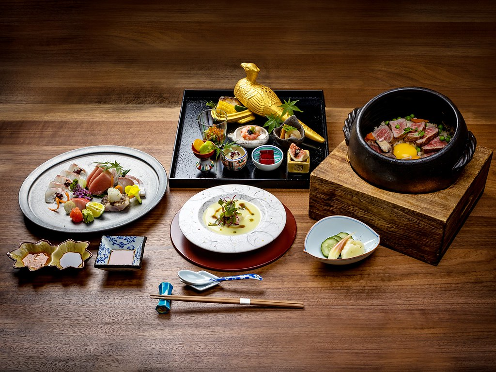 TKK Summer Omakase Dishes