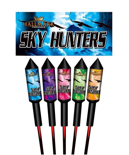 Sky Hunters 1.3G Rocket Pack by Hallmark Fireworks