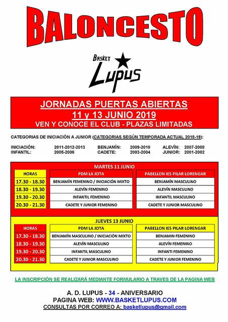 2018-19 PUERTAS ABIERTAS JUNIO - CARTEL