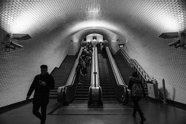 ambience de métro