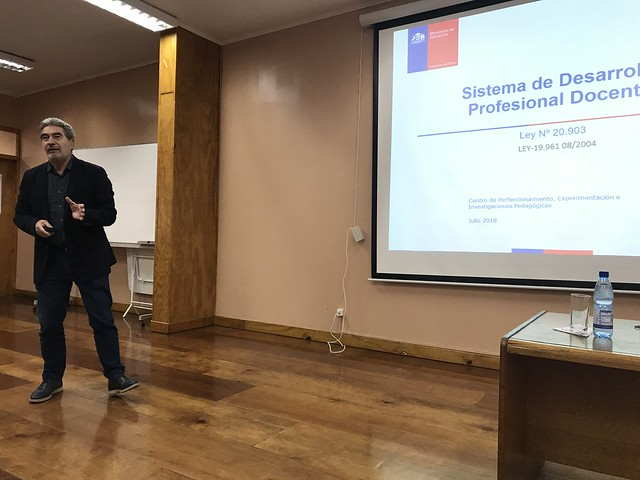 Consejo de Profesores asistió a Charla de Ingreso a carrera docente