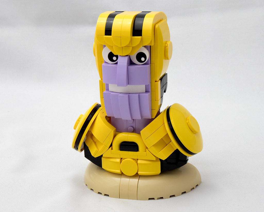 Thanos (custom built Lego model)