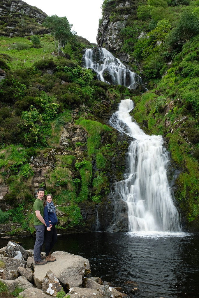 Hiking While Pregnant: Assaranca Waterfall, County Donegal, Ireland