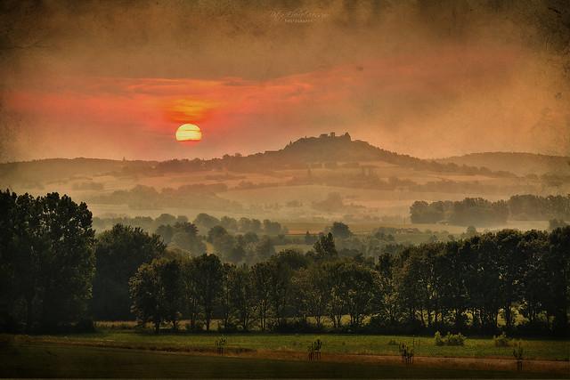 Veste Otzberg Sunset