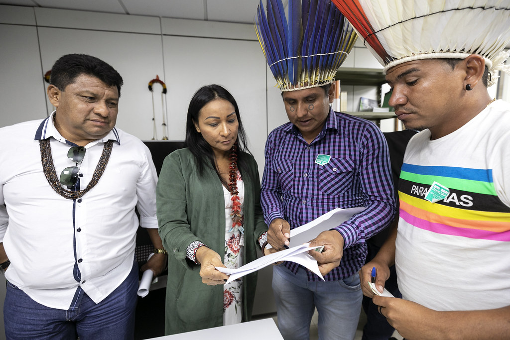Audiência com Lideranças Indígenas Javaé e Karajá