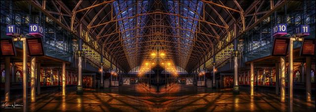 Life is like a train station