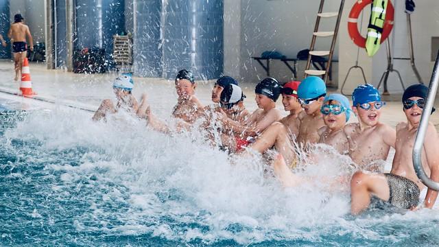190603 Actividad de piscina 1º y 2º EPO