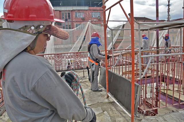 05.06.19 Obras no Centro Histórico de Manaus.