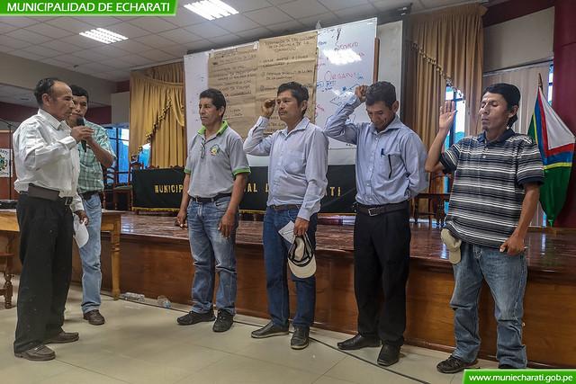 En Echarati se conformó la comisión de la mesa de concertación distrital por el café