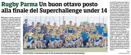 Gazzetta di Parma 05.06.19 - Finale Superchallenge U14