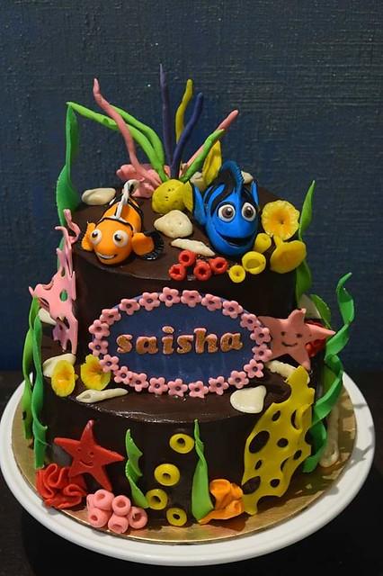 Cake by Vijaya Chauhan of Bakerina