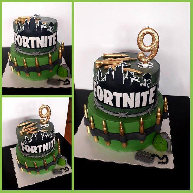 Fortnite Cake by Zorica Kljajevic