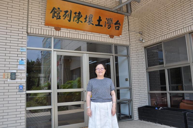 農試所農化組副研究員林毓雯博士。孫文臨攝