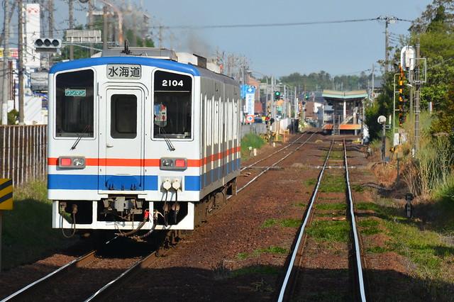 関東鉄道キハ2104
