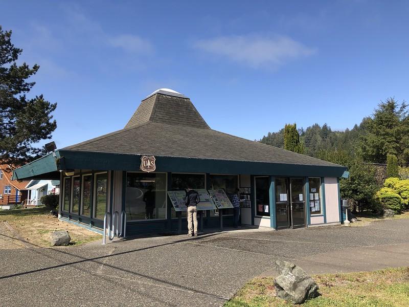 Oregon Dunes National Recreation Area Visitor Center