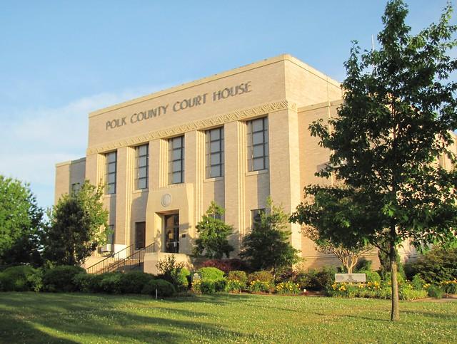 Polk County Courthouse, Mena, Arkansas 2