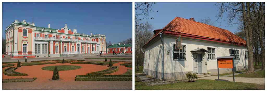 Kadriorg Palace and Peter the Great House Museum