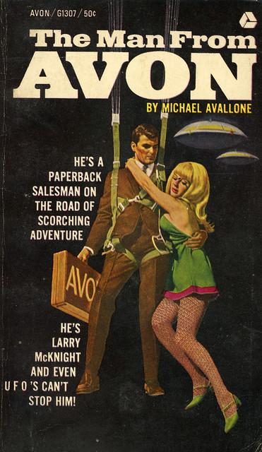 Avon Books G1307 - Michael Avallone - The Man from Avon