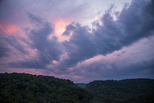 danielboonenationalforest kentucky mccrearycounty bluehour sunset clouds landscape naturalarchscenicarea cumberlandplateau