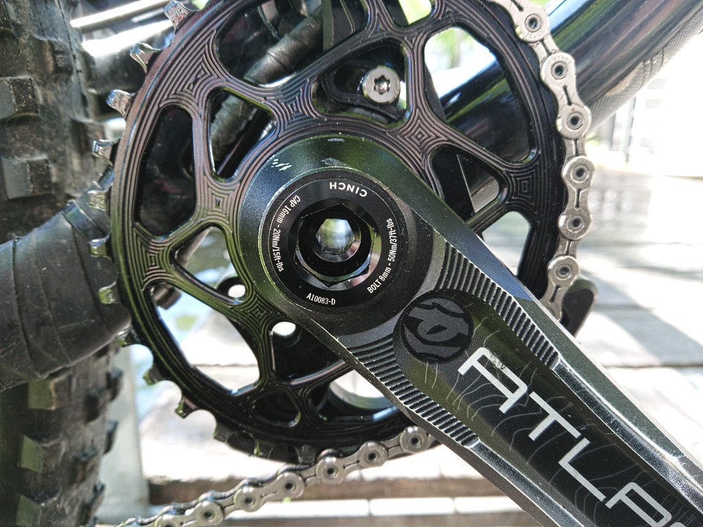 New bolt on Race Face Atlas crank