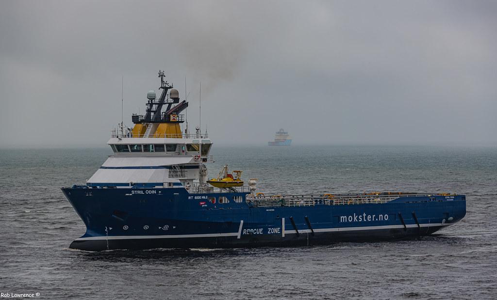 Stil Odin Arriving Aberdeen Harbour 05/06/2019