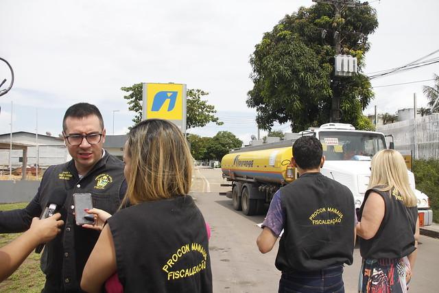 Manaus.05.06.19. Fiscalização nas ditribuidora de combustive do distrito industrial.