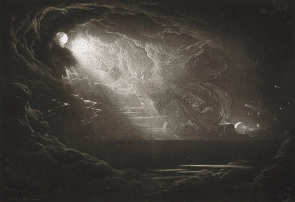 John Martin Illustrations of Paradise Lost