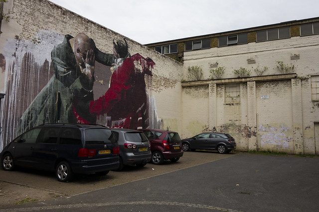 Melodramatic Street Art, Walthamstow