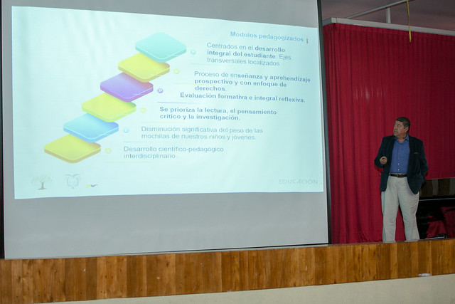 Presentación de textos modulares pedagógicos