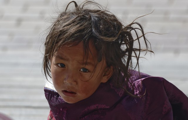 Girl at Sershul, Tibet 2018