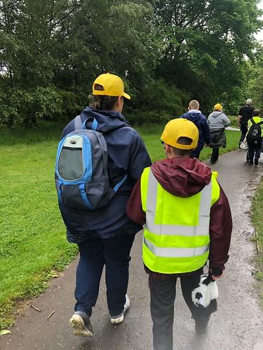 St Andrews Hospice Wear Yellow Walk