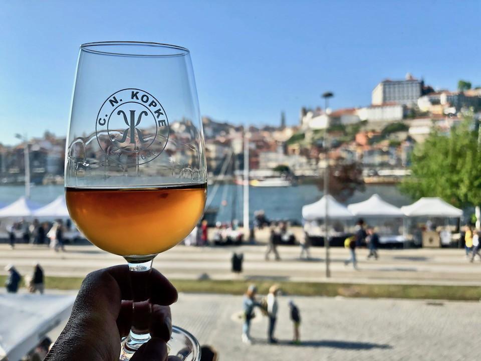 Bicchiere di Porto