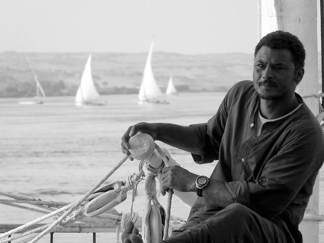 Egypte -  Felouque et Dahabeya