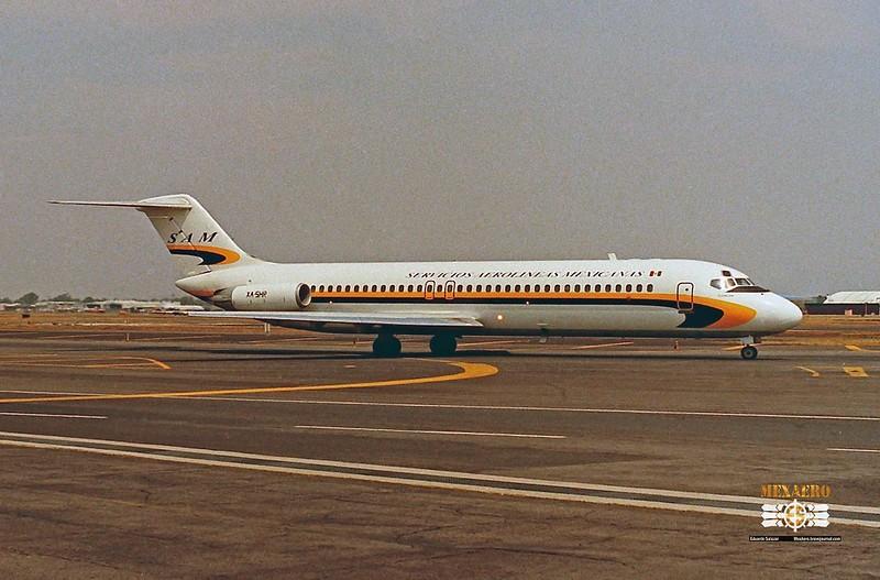 Servicios Aerolíneas Mexicanas / McDonnell Douglas DC-9-32 / XA-SHR
