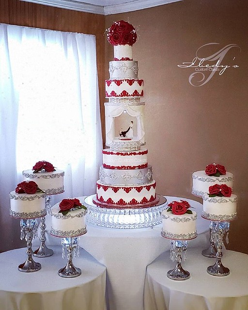 Whip Cream Cover and Fondant Decorations by Yvy Yess of Ibedy's Custom Cakes
