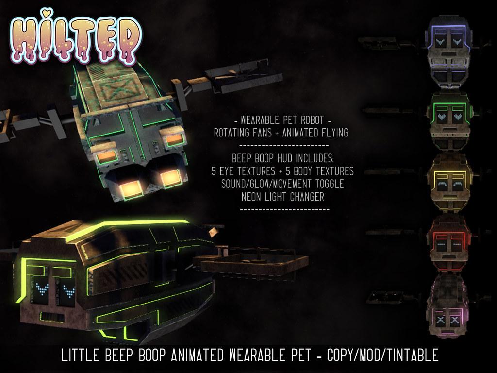 HILTED - Little Beep Boop - TeleportHub.com Live!