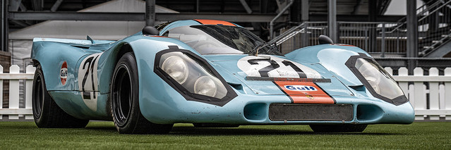 Porsche 917K @ Sonoma Speed Festival 2019