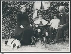 Mr & Mrs Henry Malpas with Percy and Dora Malpas, c 1906.