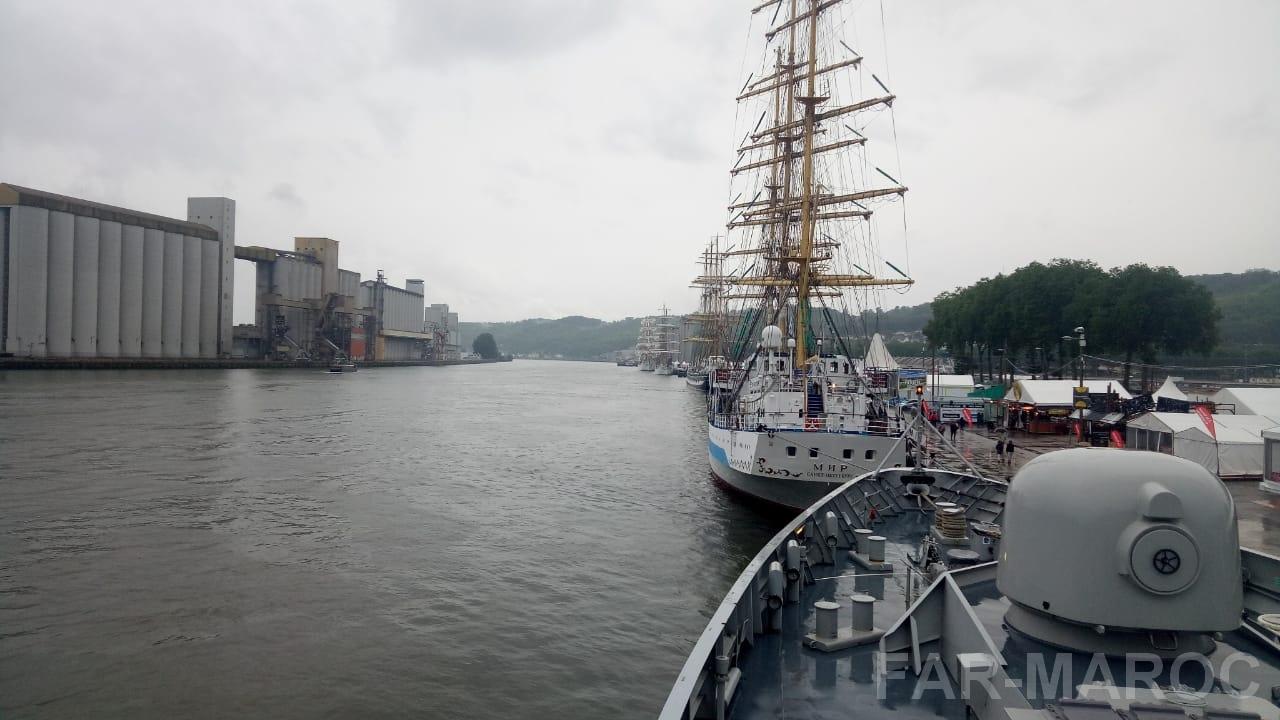 Participation de la frégate Tarik Ben Ziyad à l'Armada de Rouen 2019 48010447836_42eb6ca448_o