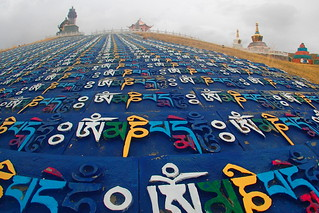 Tibetan culture is alive and well...