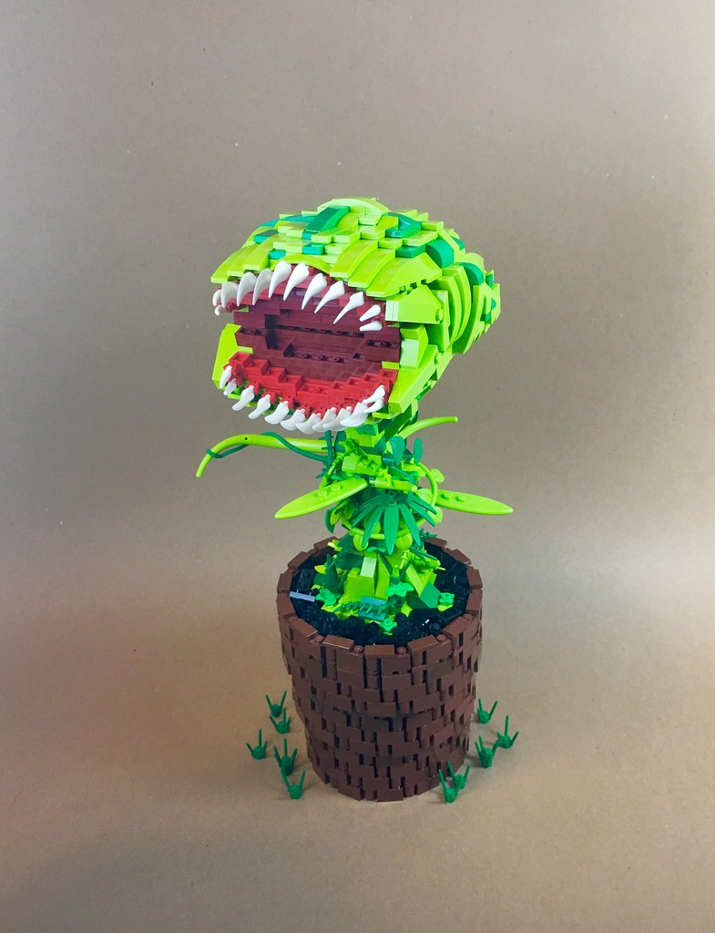 Venus Fly Trap (custom built Lego model)