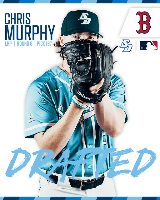 USD Baseball's 2019 MLB Draftees