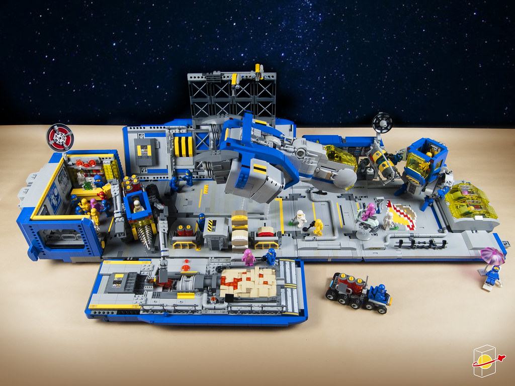Space Base on Moon III