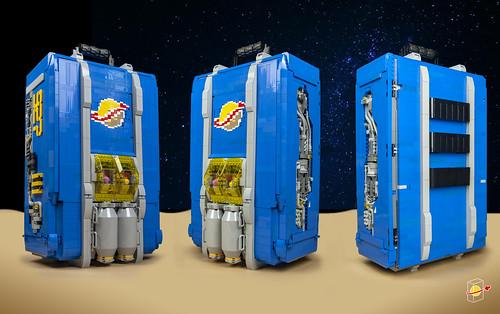 Space Base on Moon III