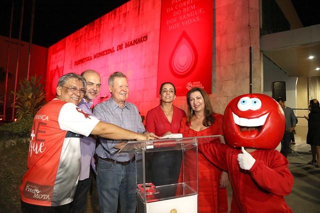 05.06.2019 Abertura da campanha Junho vermelho