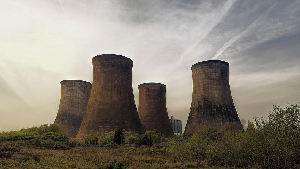 核電廠。圖片來源:Pixabay