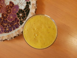 Coconut Mango Avocado Smoothie